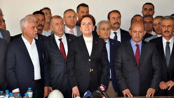 Meral Akşener'in yeni partisinin genel merkezi açılıyor.
